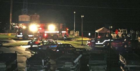 Bilden där bilen drogs upp.  (Publicerad: 2011-04-14)