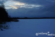 Södra Bergundasjön - Växjö, 2012-12-22