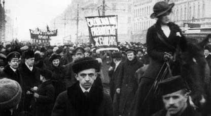 Kvinnodagen i Petrograd