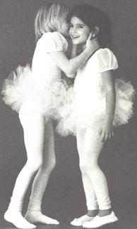 Det är roligare att vara två när man dansar.