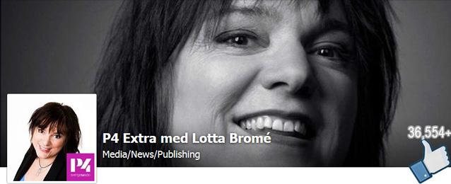Lotta Bromé, P4-extra (facebook)