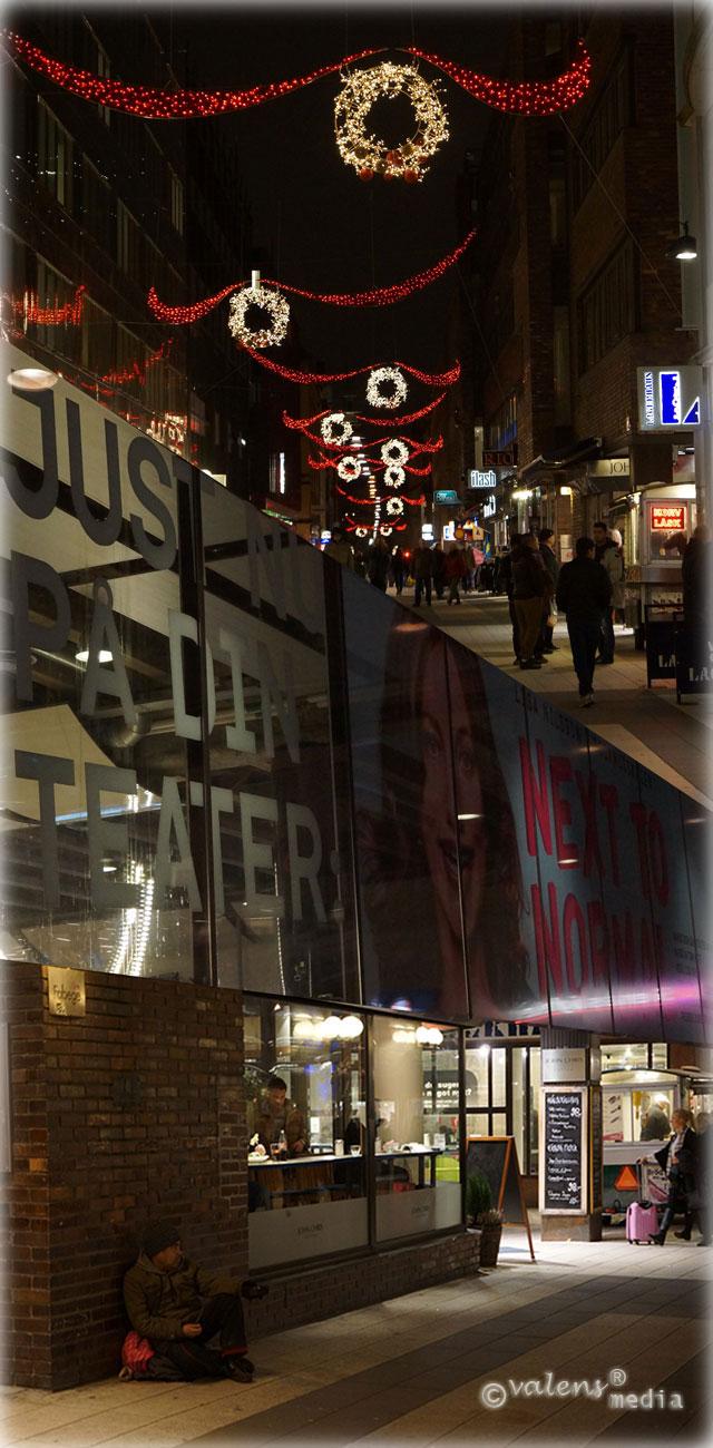 Drottninggatan, Stockholm – 2012-11-25