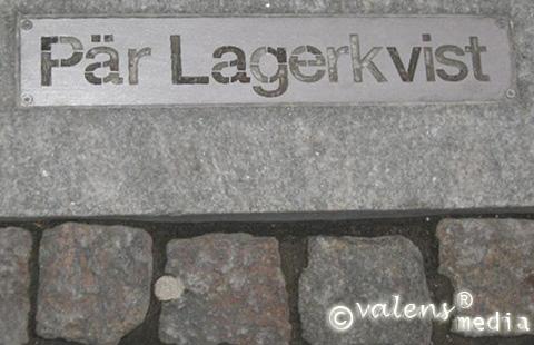 """På Storgatan längs """"Kulturstråket"""" i Växjö centrum"""