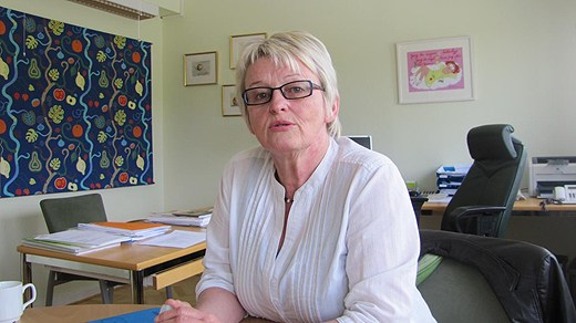 Lena Karlsson, centerpartistiskt landstingsråd i Ljungby