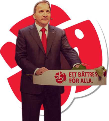 Stefan L�fven, Socialdemokraterna, 2014