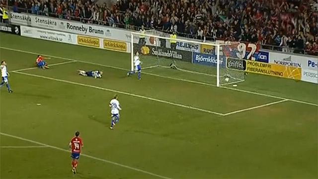 2012-09-03, Arenans första mål - B