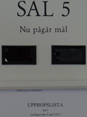 Uddevalla TR, Sal 5