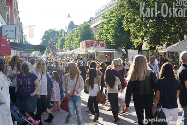 Växjö - Storgatan, 2012-08-03