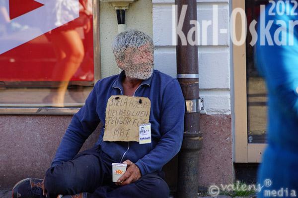 Tiggare, Växjö - Storgatan, 2012-08-03
