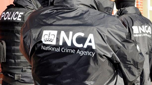 Brittiska polismyndigheten NCA. Foto: AFP/National Crime Agency/TT