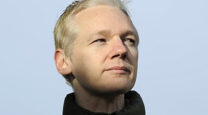 Julian Assange, foto: Paul Hackett